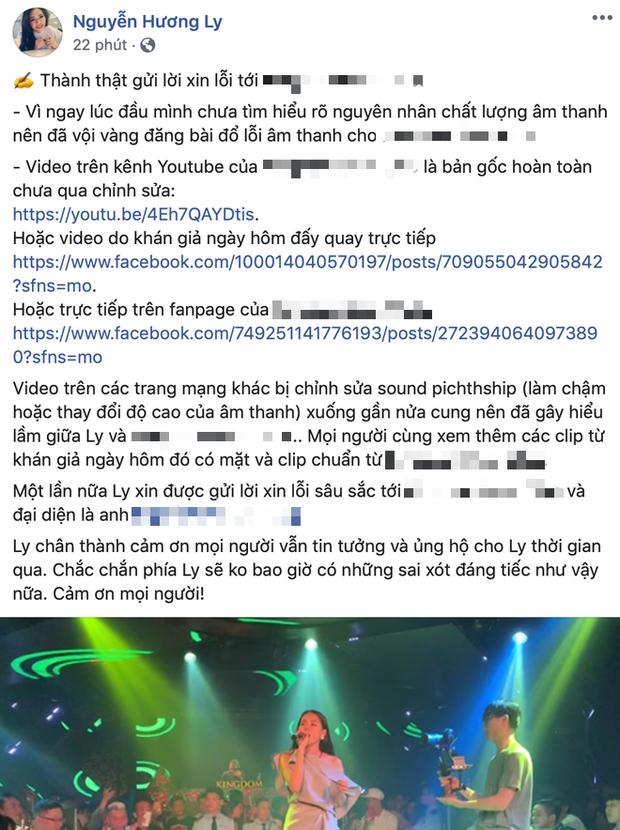 Sau khi bị bóc hát live kém: Chi Pu âm thầm xin lỗi fan, Vũ liền tay xoá sổ clip, riêng thánh nữ cover thì... tố lại dàn âm thanh? - ảnh 3