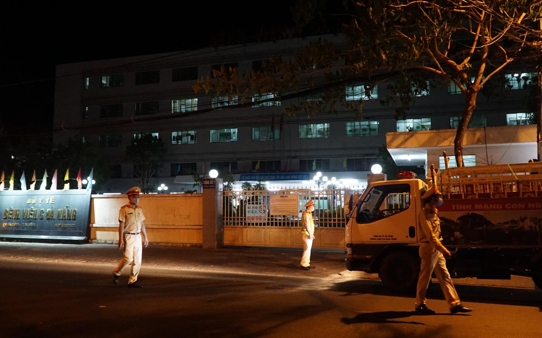 Bệnh viện C Đà Nẵng sẽ kết thúc phong tỏa, hoạt động trở lại vào 0 giờ ngày 8/8