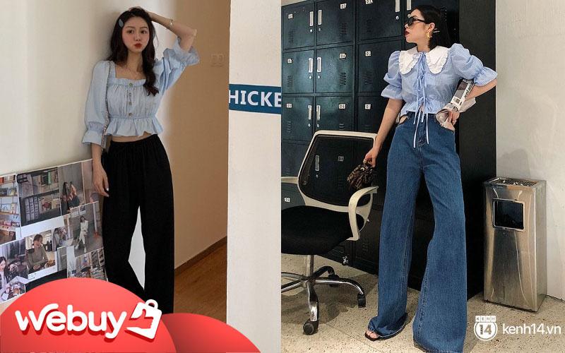 Áo blouse nhấn eo đã ''hack'' dáng còn mix được 5 kiểu khác nhau, bảo sao nàng nào cũng muốn sắm vài ba chiếc