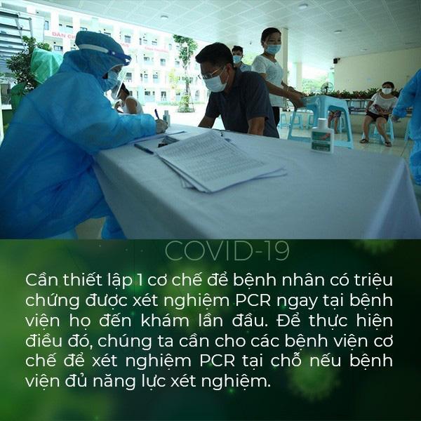 Nhóm Chuyên gia Bệnh Viện Đại Học Y Hà Nội hiến kế 3 giải pháp giải quyết tình hình dịch bệnh tại Hà Nội - Ảnh 3.