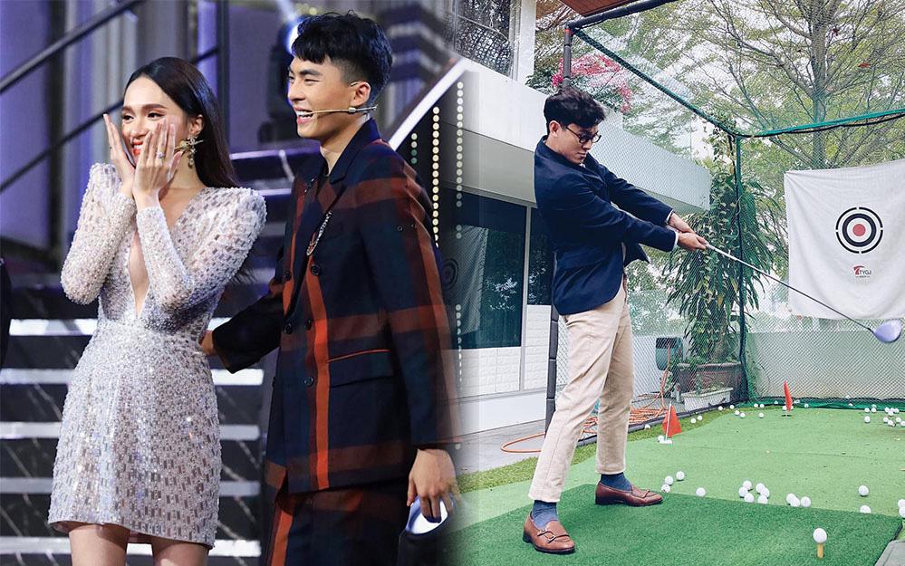 Thế Thịnh đầy tâm trạng, Khánh Ngô đăng hình chơi golf sau khi Hương Giang thành đôi với CEO Matt Liu