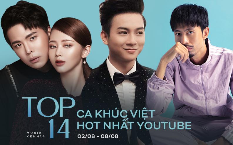 Sơn Tùng bật khỏi top 4, Đen Vâu vào thẳng top 2 sau 3 ngày; Hoài Lâm quyết không rời #1 những ca khúc Việt hot nhất YouTube tuần qua!