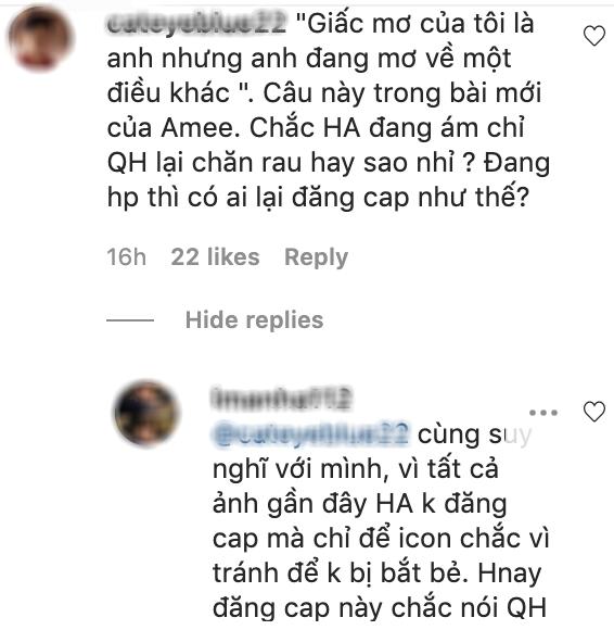 Đang yên đang lành Huỳnh Anh lại đăng status tâm trạng, fan nghi vấn: Muốn nói Quang Hải không chung thuỷ? - ảnh 2