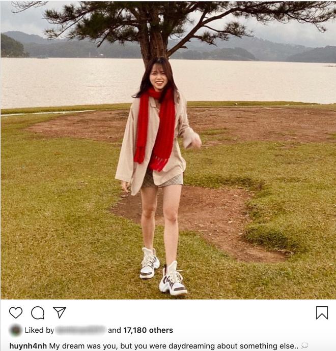 Đang yên đang lành Huỳnh Anh lại đăng status tâm trạng, fan nghi vấn: Muốn nói Quang Hải không chung thuỷ? - ảnh 1