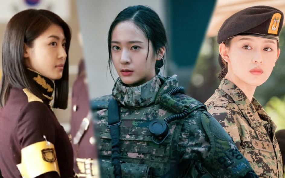 """3 chị đại quân nhân ngầu bá cháy ở phim Hàn: Krystal đẹp đấy nhưng chưa gây thương nhớ bằng """"Trung úy"""" Kim Ji Won"""