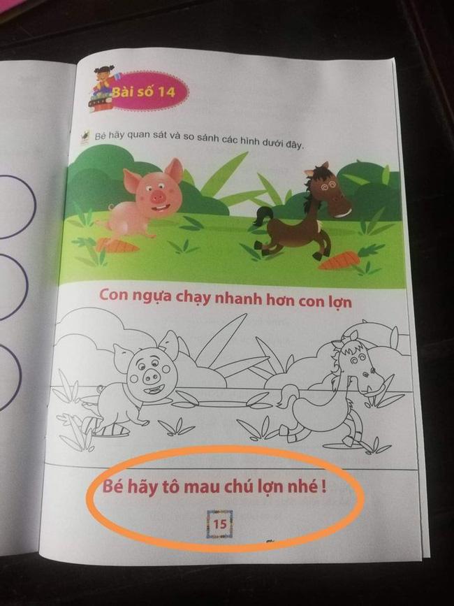Phụ huynh choáng váng trước bộ sách sai tùm lum: Con bò thì viết thành con bì, dạy về xe máy thì cho hẳn xe đạp làm hình minh họa - Ảnh 6.