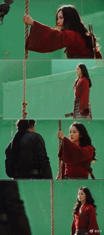 Lộ diện diễn viên đóng thế Mulan: Nhan sắc nổi bật hơn cả Lưu Diệc Phi, nhận cơn mưa lời khen vì khí chất ngút ngàn - ảnh 5