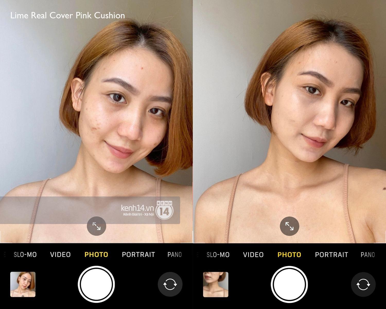 Review 5 cushion dưới 400k: Che cả thâm mụn và lỗ chân lông, chụp selfie bằng cam thường da vẫn mịn căng - Ảnh 3.