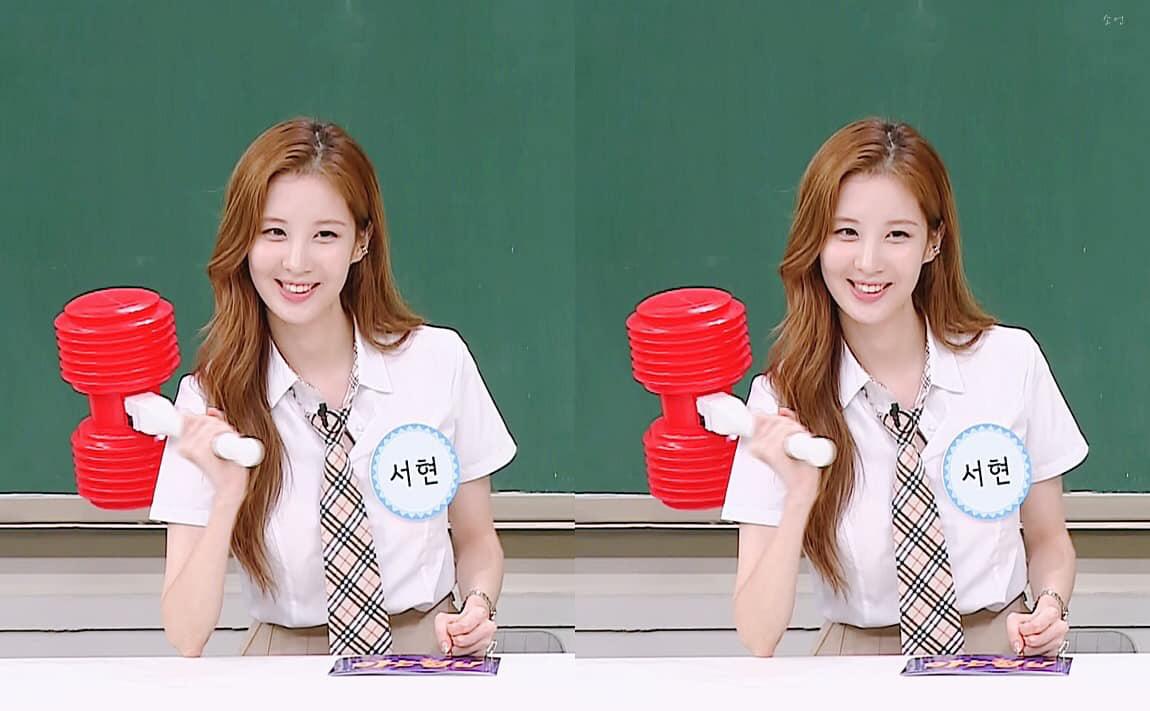Đã U30 mà Seohyun vẫn cosplay nữ sinh thành công, dùng đồ makeup bình dân mà xinh ra trò - Ảnh 4.