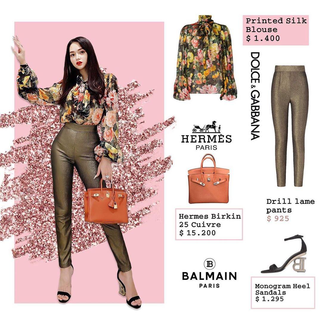 Bóc giá loạt outfit của Hương Giang từ khi hẹn hò Matt Liu: Cây nào cũng trăm triệu, đồng hồ gần tỷ đeo như cơm bữa - Ảnh 6.