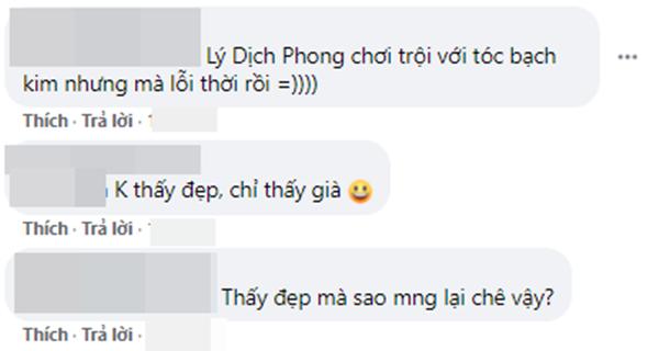 Lý Dịch Phong đu trend tóc bạch kim ở Kính Song Thành nhưng mốt hơi lỗi thời không? - ảnh 8