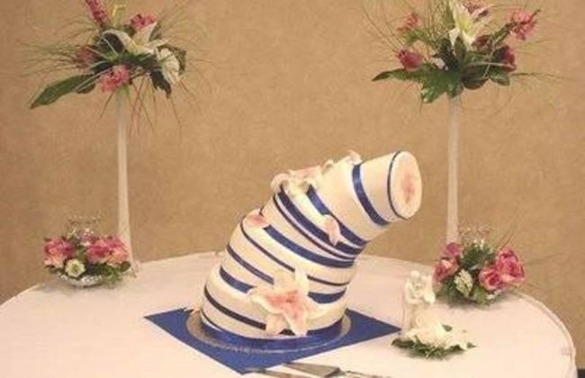 Những chiếc bánh cưới hắc ám khiến cô dâu chú rể chán không buồn về chung một nhà nữa - ảnh 5