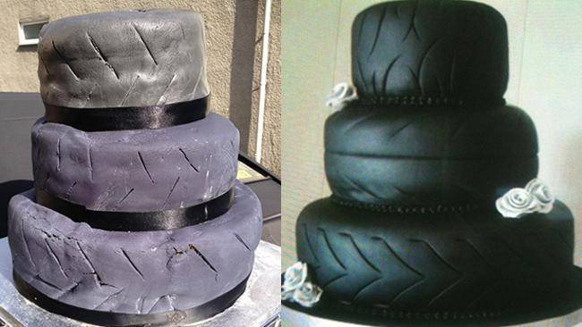 Những chiếc bánh cưới hắc ám khiến cô dâu chú rể chán không buồn về chung một nhà nữa - ảnh 8