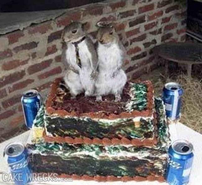Những chiếc bánh cưới hắc ám khiến cô dâu chú rể chán không buồn về chung một nhà nữa - ảnh 15