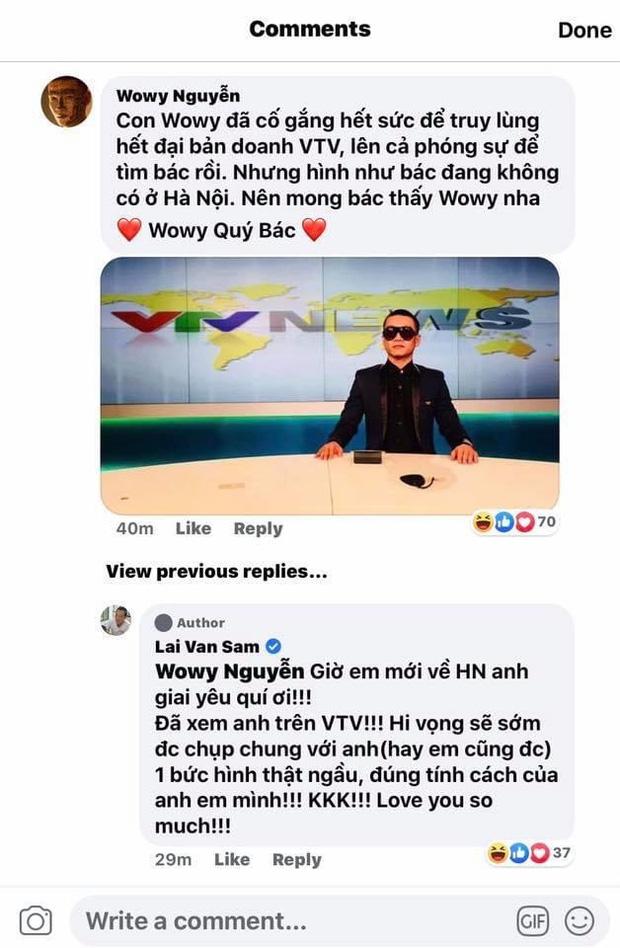 Wowy thành fan cuồng của MC Lại Văn Sâm mất rồi: Tiếp tục ra Hà Nội truy lùng thần tượng, lần này dịp gì đây? - ảnh 3