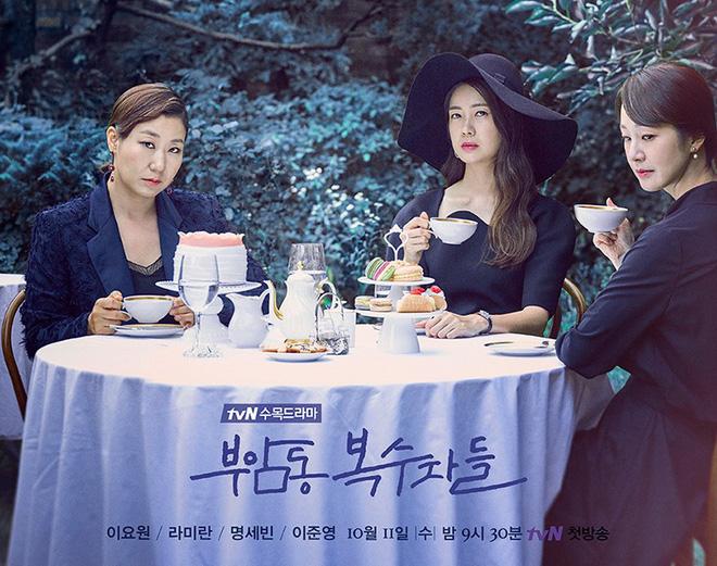 1001 trò xử chồng và tiểu tam xanh rờn ở phim Hàn: Hết cầm nguyên dĩa mì đập thẳng mặt đến ngủ luôn với bạn chồng? - ảnh 3