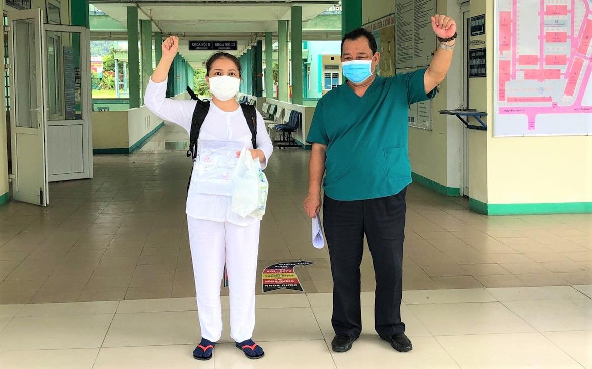 Bệnh nhân Covid-19 cuối cùng rời Bệnh viện Phổi Đà Nẵng