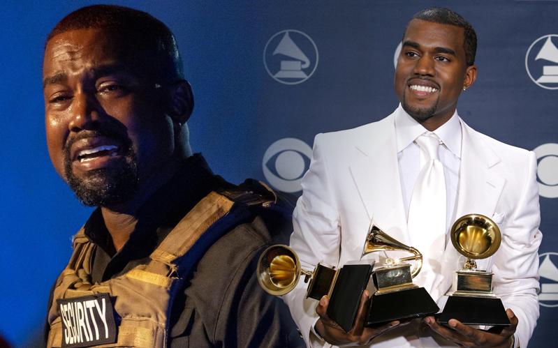 """Đi tiểu lên cúp Grammy, """"ăn vạ"""" các nghệ sĩ khác và """"khủng bố"""" Twitter: Kanye West đang tự giết chết sự nghiệp âm nhạc của mình?"""