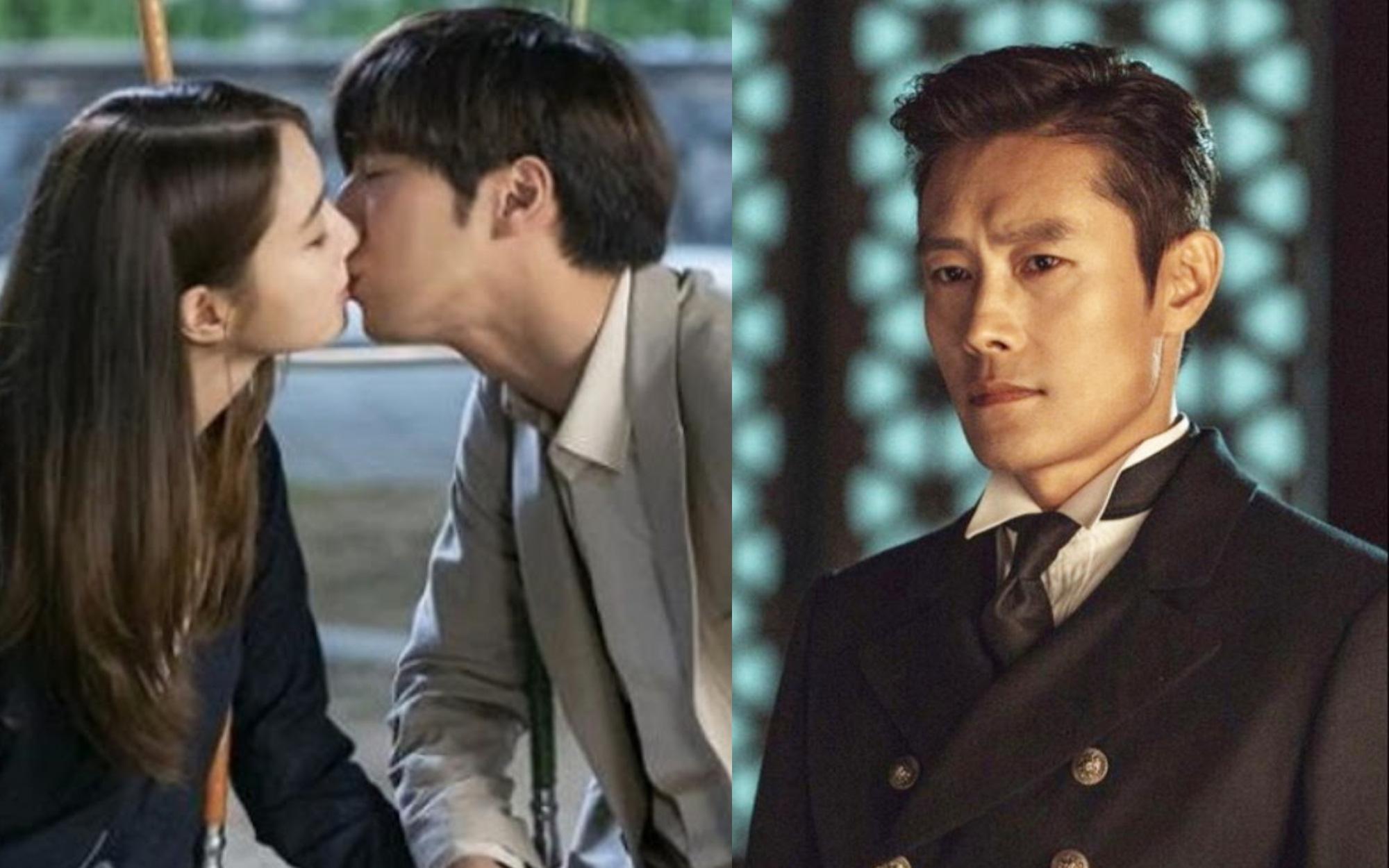 Không phải ông xã Lee Byung Hun, quý tử nhỏ mới là người lo lắng nhất khi thấy mỹ nhân Vườn Sao Băng đóng cảnh hôn