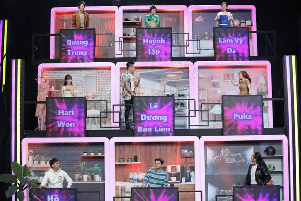 Cả Vbiz hội ngộ trong một khung hình: Trường Giang - Hari Won nhường spotlight cho màn ké ảnh giả trân của Huỳnh Lập - ảnh 3