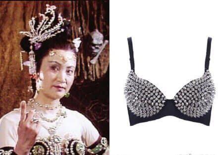 Thì ra Tây Du Ký mở ra loạt trend thời trang khủng: Từ khăn cổ nữ sinh, áo lưới xuyên thấu đến bộ bra đính đá chị em truy lùng - ảnh 4