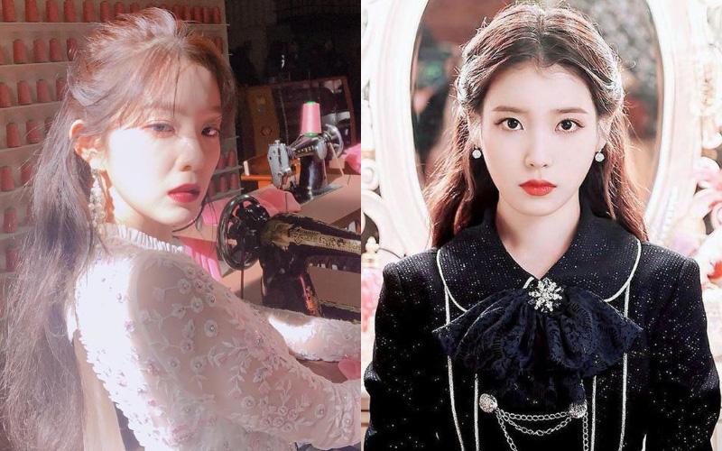 Kiểu tóc quen thuộc hay bị chê sến nhưng Irene, IU diện lên lại đẹp sang như nữ thần