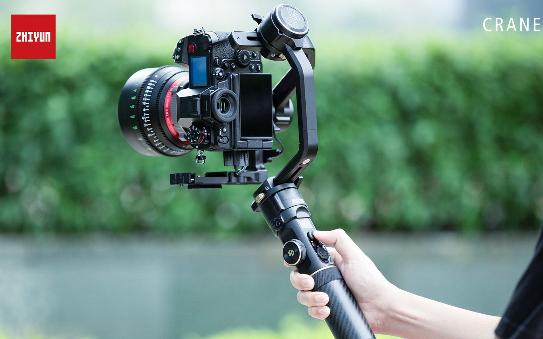Tin vui cho các YouTuber: Gimbal chống rung CRANE 2S chính thức ra mắt với thiết kế cổ điển, tính năng cải tiến