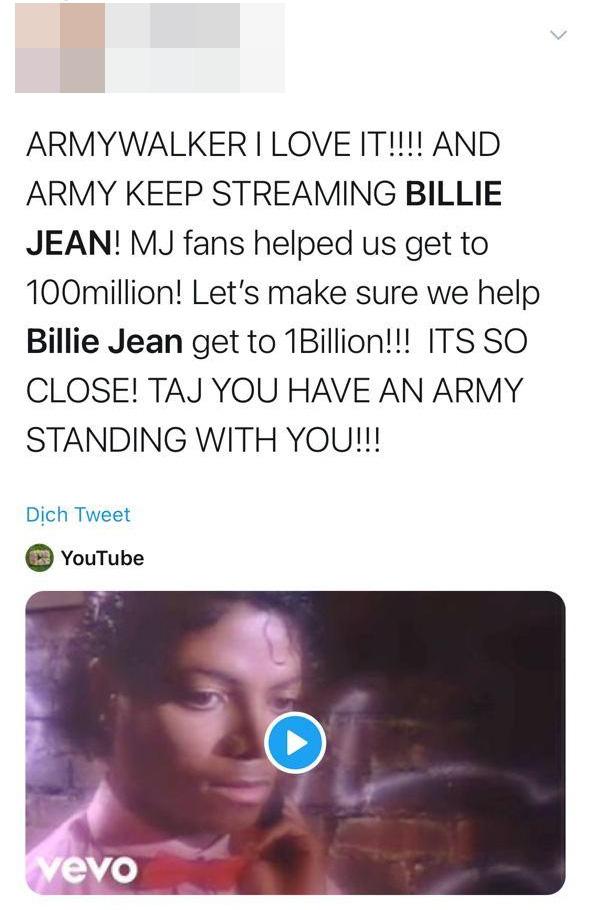 Dở khóc dở cười: Fan của Michael Jackson đang nhờ cậy fan BTS ủng hộ để đánh bại Whitney Houston trong cuộc chiến tỉ view? - ảnh 5