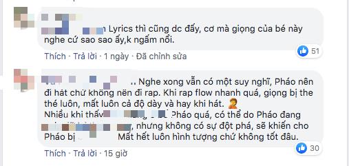 Pháo tiếp tục nhận chỉ trích dù giành vé đi tiếp tại King Of Rap: Cách rap một màu, giọng the thé nên đi hát hơn làm rapper? - ảnh 3