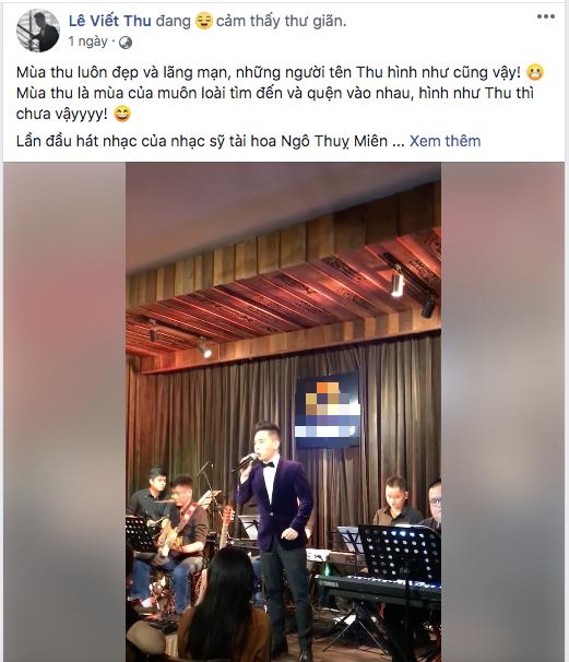 Sơn Tùng M-TP hiếm lắm mới dùng FB cá nhân đi comment dạo, vừa khen ngợi hết lời vừa cà khịa chiều cao của nam ca sĩ trẻ - ảnh 1