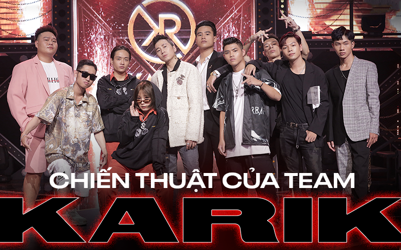 """Thi đấu vòng đối đầu đầy ấn tượng tại Rap Việt, điều gì giúp team Karik làm nên """"chiến thắng tạm thời"""" này?"""