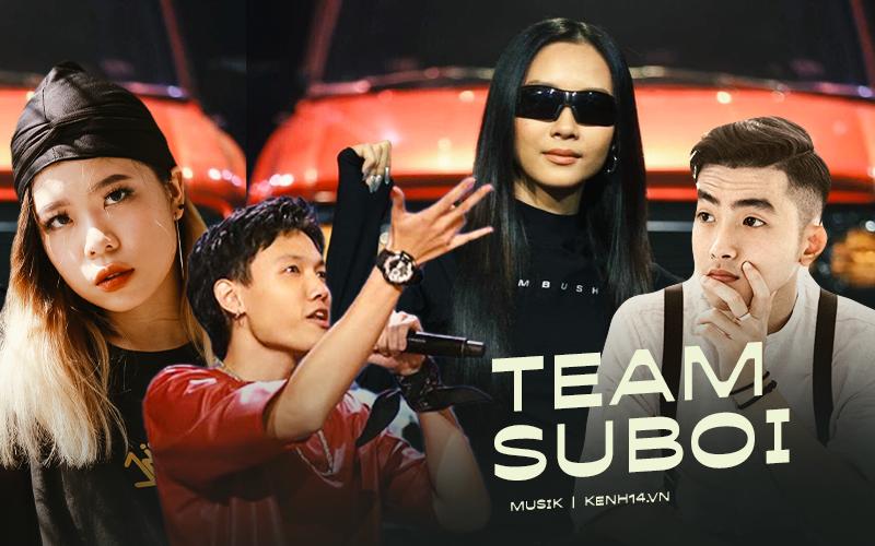 """Không chỉ có Tage và Tlinh, team Suboi còn sở hữu nhiều """"quái vật"""" ẩn náu, nếu bị loại cả 4 thí sinh thì quả thật đáng tiếc!"""