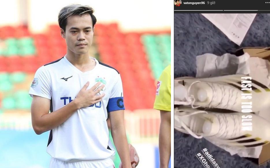 """Văn Toàn tậu """"vũ khí"""" đặc biệt trước ngày V.League trở lại: Là sự lựa chọn của ngôi sao Son Heung-min, thiết kế riêng cho các chân chạy"""