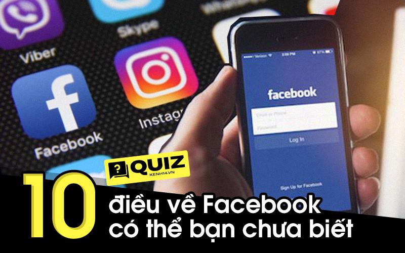 Quiz nhanh: Nướng Facebook cả ngày, thử xem ai trả lời đúng 10 câu hỏi về mạng xã hội này?