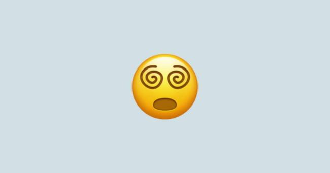 Hoa mắt chóng mặt được coi là biểu tượng cảm xúc của năm 2020 (ít chuyện vui) - ảnh 1