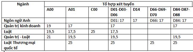 Cập nhật 25/9: Điểm chuẩn và điểm sàn của hơn 90 trường đại học top đầu, dao động từ 20-28 điểm - ảnh 7