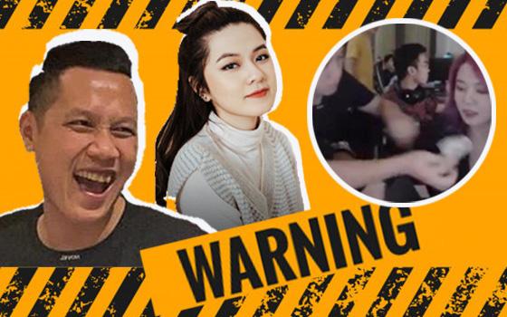 Thầy giáo Ba có hành động nhạy cảm ngay trên sóng với nữ streamer Tianie, cư dân mạng chỉ trích dữ dội