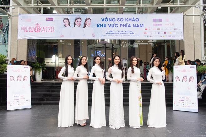 Dàn thí sinh đua nhau khoe sắc tại vòng sơ khảo Hoa hậu Việt Nam 2020, bản sao Jennie (BLACKPINK) có như kỳ vọng? - ảnh 13