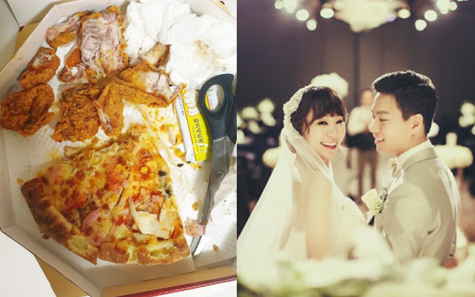 Bức ảnh tưởng vui vẻ nhưng lại gây phẫn nộ: Chồng sao nữ xứ Hàn để dành phần thức ăn cho vợ, ai dè nhìn như... rác và đồ thừa