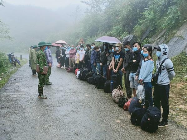 Hà Giang: Phát hiện 80 công dân nhập cảnh trái phép - ảnh 1