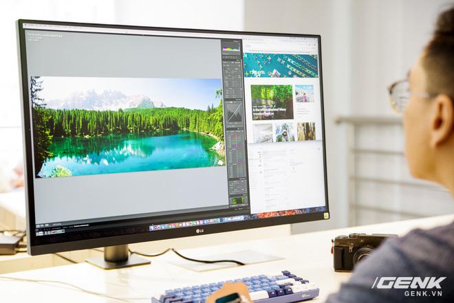 Trải nghiệm nhanh màn hình LG UltraFine Display 4K dành cho dân đồ hoạ: thiết kế tinh tế, hiển thị ấn tượng - ảnh 13