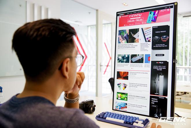 Trải nghiệm nhanh màn hình LG UltraFine Display 4K dành cho dân đồ hoạ: thiết kế tinh tế, hiển thị ấn tượng - ảnh 16