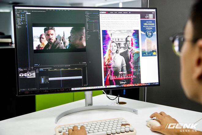 Trải nghiệm nhanh màn hình LG UltraFine Display 4K dành cho dân đồ hoạ: thiết kế tinh tế, hiển thị ấn tượng - ảnh 25