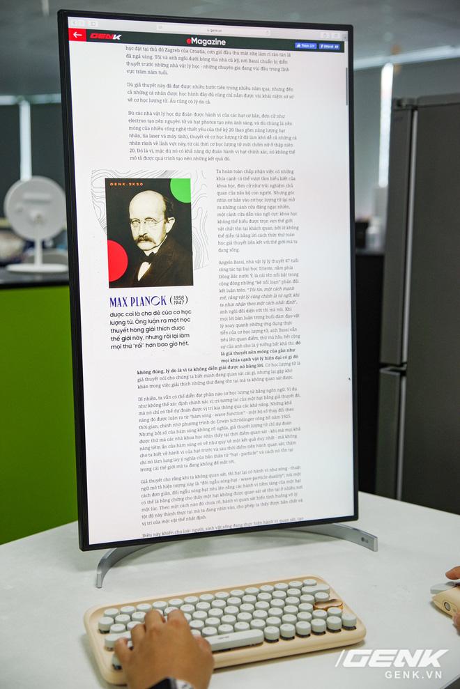 Trải nghiệm nhanh màn hình LG UltraFine Display 4K dành cho dân đồ hoạ: thiết kế tinh tế, hiển thị ấn tượng - ảnh 28