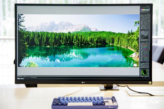 Trải nghiệm nhanh màn hình LG UltraFine Display 4K dành cho dân đồ hoạ: thiết kế tinh tế, hiển thị ấn tượng - ảnh 9