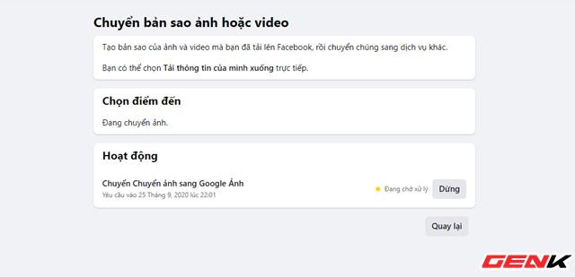 Cách chuyển toàn bộ ảnh từ Facebook sang Google Photos để phòng trường hợp bị khóa tài khoản - ảnh 11