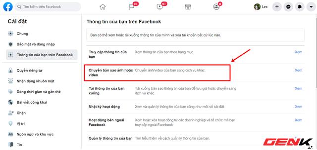 Cách chuyển toàn bộ ảnh từ Facebook sang Google Photos để phòng trường hợp bị khóa tài khoản - ảnh 5