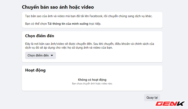 Cách chuyển toàn bộ ảnh từ Facebook sang Google Photos để phòng trường hợp bị khóa tài khoản - ảnh 6