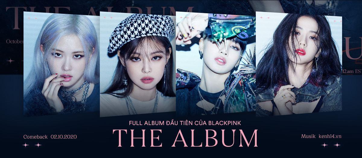 BLACKPINK trở lại với The Album