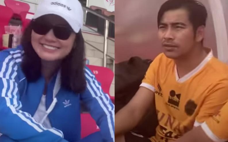 """Ngọc Lan âm thầm ra sân ủng hộ, chồng cũ Thanh Bình hỏi 1 câu là đủ hé lộ luôn tình trạng của cả hai hậu """"đường ai nấy đi"""""""